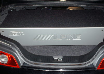 1314 - G35 Coupe Alpine Type R Down Firing Ported Box